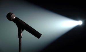 mic and lights